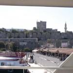 Bodrum Burg aus dem Hafen