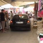 Güvercinlik Verkehr im Markt